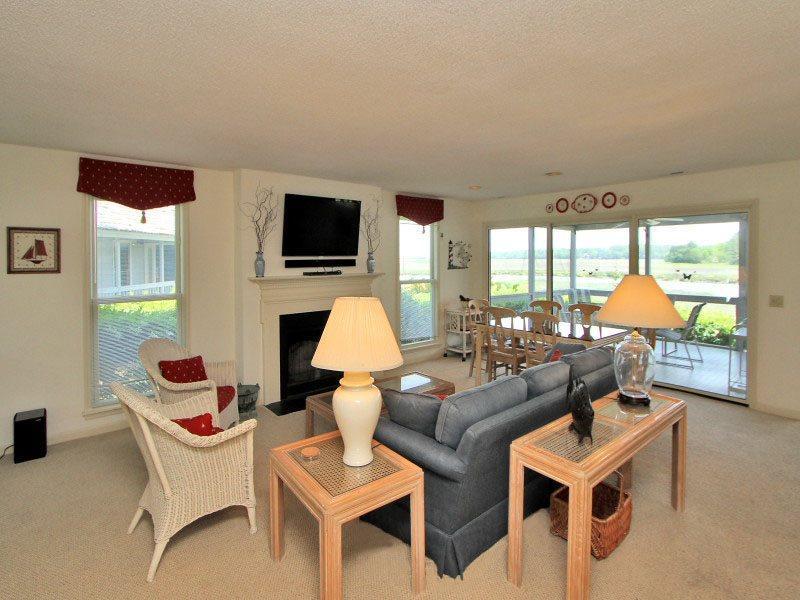 Open Floor Plan at 46 Lands End Road - 46 Lands End Road - Hilton Head - rentals