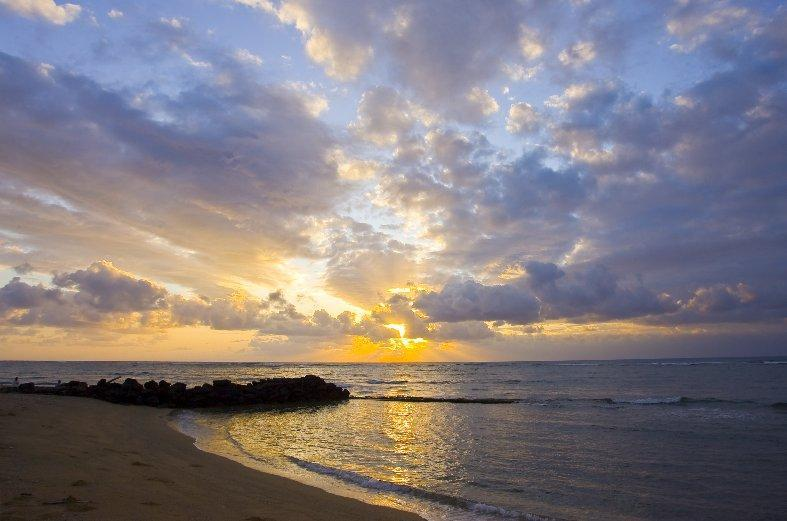 Waipouli Beach Resort sunrise - Guests Rave About Us! See Why! Waipouli Beach F402 - Kapaa - rentals