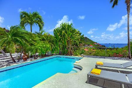 Contemporary Ylang-Ylang Villa has  beautiful décor and close to beach - Image 1 - Flamands - rentals