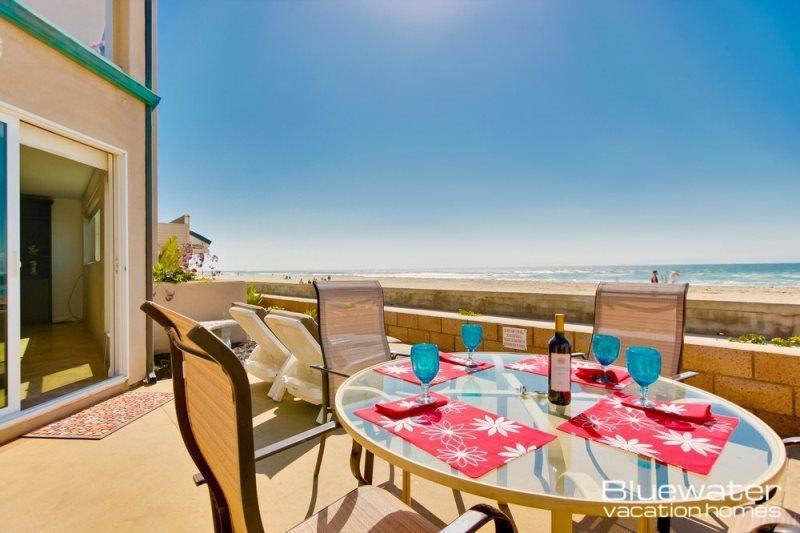 Rockaway Court and Ocean Front Walk in Beautiful Mission Beach - Rockaway Ocean Front Retreat I - Mission Beach - Pacific Beach - rentals
