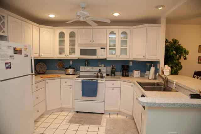 Kitchen - Gulfside Mid-Rise Unit 203 E - Sarasota - rentals