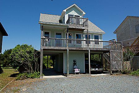 Exterior  - Seaside Serenity, 208 S Anderson Blvd., SAVE UP TO $170!!! - Topsail Beach - rentals