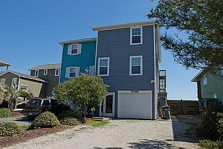 Exterior - Beach Slap - 706-B N. Shore Drive - Surf City - rentals