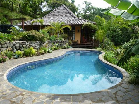 Bali Style Home Overlooking Tree Canopy - Image 1 - Atenas - rentals