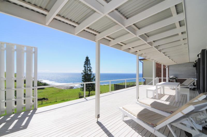 The deck view - ONE TREE - Gerroa - rentals