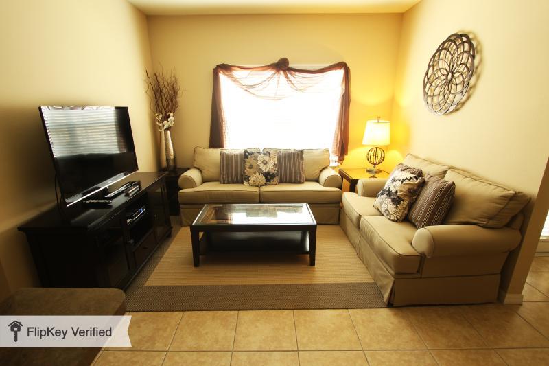 Living Room - 1.5 Miles to Disney, Luxury Villa at the Oakwater Resort - Kissimmee - rentals