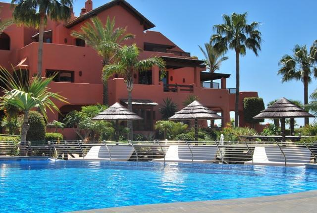 One of the 2 outdoor Swimming Pools - Torre Bermeja Guadalamansa Luxury Duplex Penthouse - Estepona - rentals