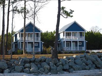 Dock view of Cottages - Neuse Village Cottage #7 101062 - Arapahoe - rentals