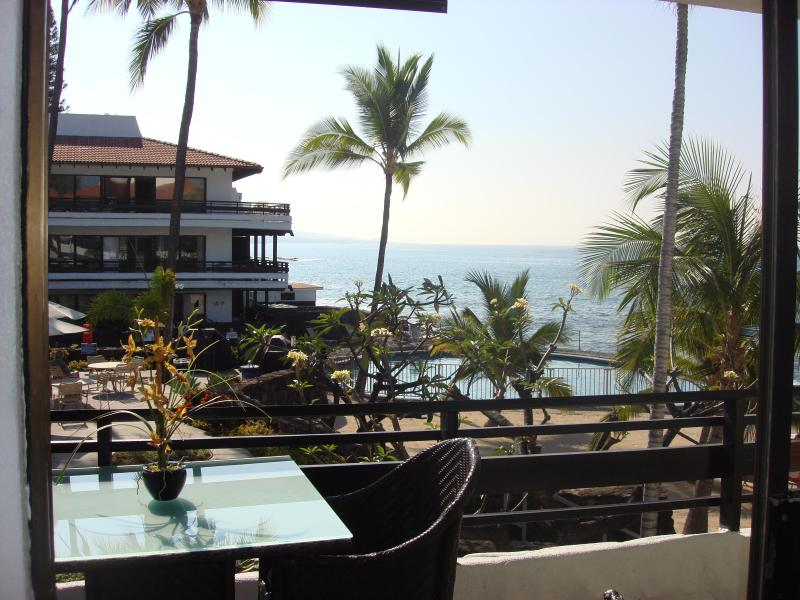 View from Lanai - NEWLY REMODELED FOREVER VIEW CASA DE EMDEKO B,#237 - Kailua-Kona - rentals