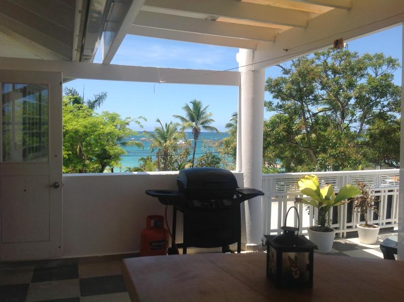 Great rooftop bar - amazing ocean views - Luxury waterfront,  2-level penthouse with Rooftop Terrace with BBQ - Las Terrenas - rentals