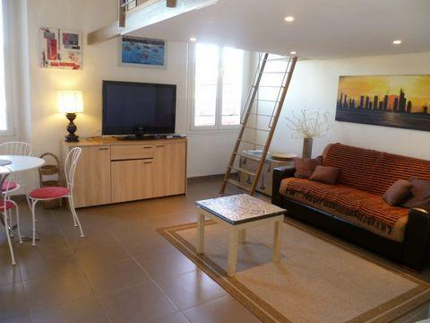 Beautiful Apartment with Mezzanine - Image 1 - Cannes - rentals