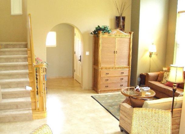 Living area - Waikoloa Colony Villa w/discount golf next to pool - Waikoloa - rentals