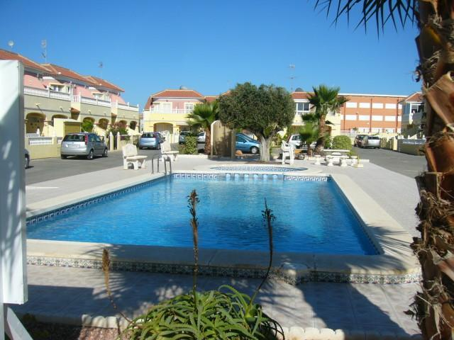Immaculate pool only yards away from house - Casa Macarena 2 bed house ,Torreta 3, Torrevieja - Orihuela - rentals
