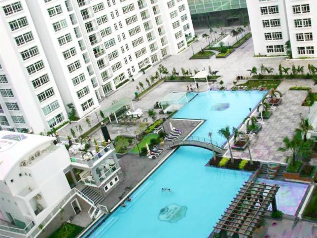 Your view to the pool - Wow! 2 bedrooms, Pool & River Views! - Ho Chi Minh City - rentals