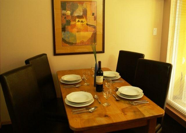 Dining Area - Bear Lodge 207 - Village stroll location, walking distance to lifts - Whistler - rentals