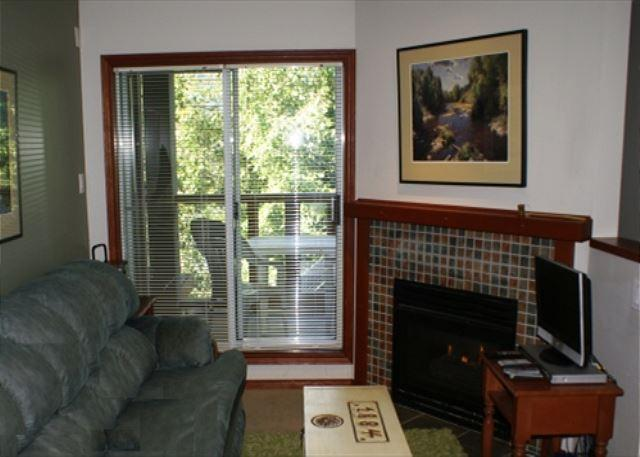 Living Room - Glaciers Reach 44 - condo on the free shuttle route and includes free wifi! - Whistler - rentals