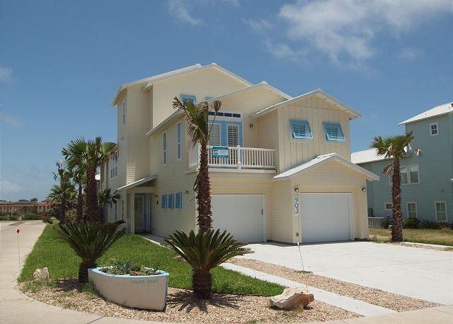 Newly Constructed ADA 5 bed 4 1/2 bath w/ elevator,beach access Banyan Beach! - Image 1 - Port Aransas - rentals