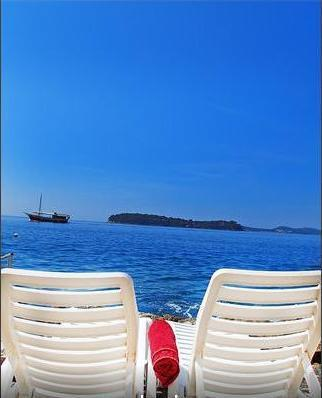 Studio with sea view , terrace and private beach - Image 1 - Dubrovnik - rentals