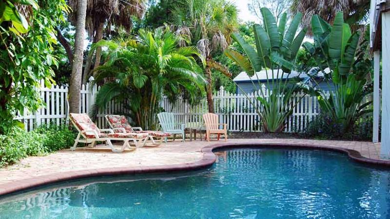 Heated Pool - Tequila Sunset: 2BR Island Home with Heated Pool - Anna Maria - rentals