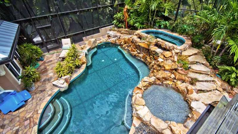 View from Second Floor Deck - Seahorse Cove: 5BR Amazing Pool Home with Dock - Anna Maria - rentals