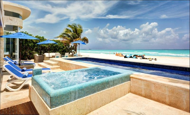 MAYA - BEACH4 - A chic, contemporary, oceanfront private oasis - Image 1 - Riviera Maya - rentals