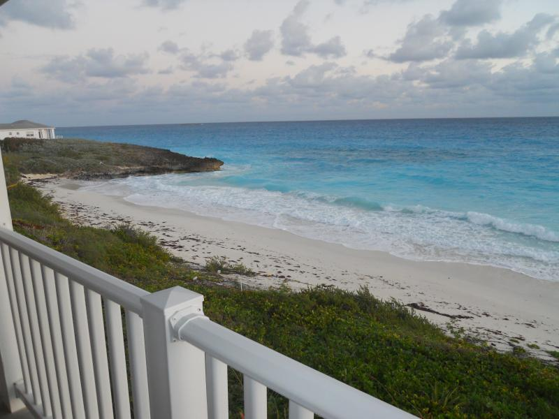 this is how close we are to the sea - Inti Villa of Exuma-  a private beachfront villa - Great Exuma - rentals