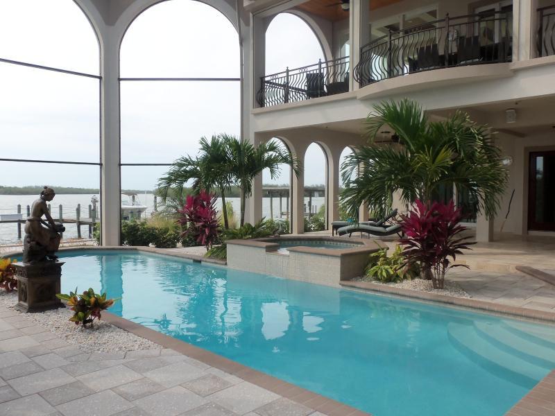 Lania & Pool Area - Casa De Sol - Naples - rentals