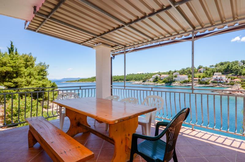 Apartments Ivo - 38671-A5 - Image 1 - Cove Basina (Jelsa) - rentals