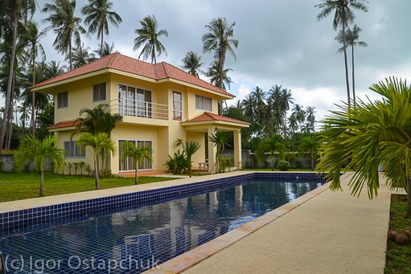 large pool - 3 bed tropical villas - Lamai Beach - rentals