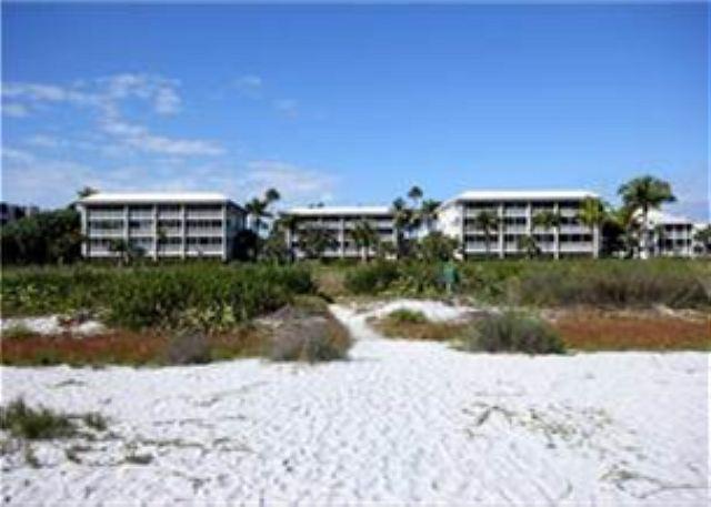 Exterior of Beachcomber - Beach front luxury condo - Sanibel Island - rentals