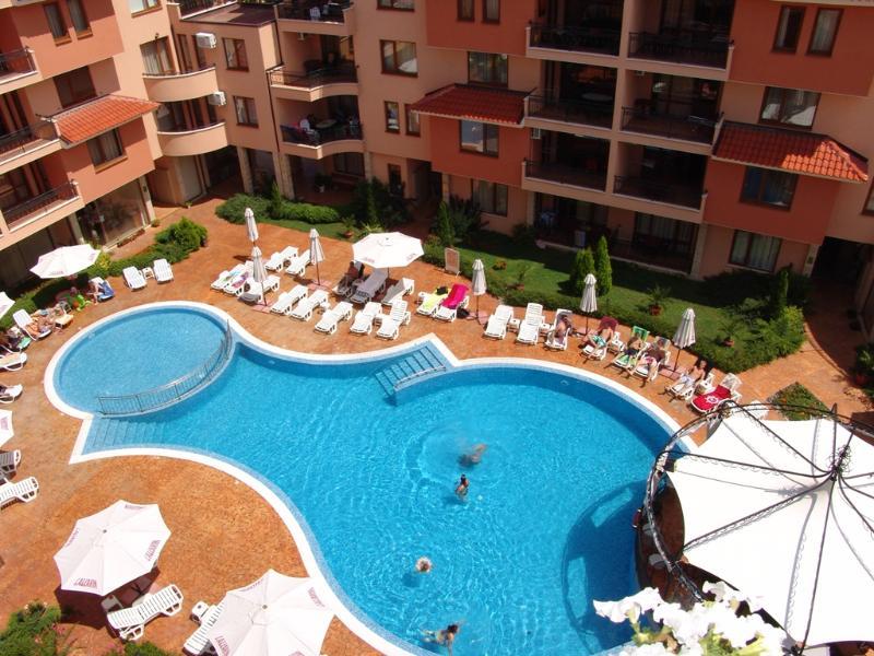 Aerial View - Efir Holiday Village (sleeps 4 near beach) - Sunny Beach - rentals