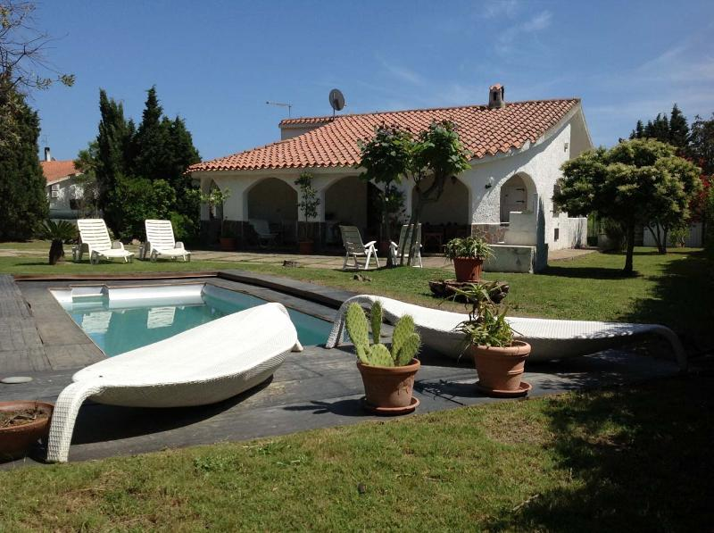 Front - private out the ground pool - Sardinia - Villa Aloe, cozy and quiet with pool & wide garden - Pula - rentals