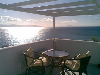 Terrace veranda sea view - Villa with panoramic sea view - Piso Livadi - rentals