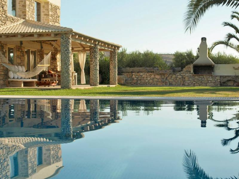 Villa Armonia_Outdoor View Private Heated Pool - Villa Armonia:Luxurious,Spacious Villa,Heated Pool - Pitsidia - rentals