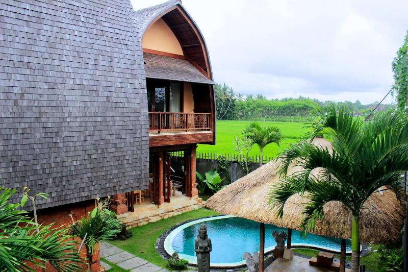 Villa view - Cheapest & Unique Pool Villa in Ubud - Ubud - rentals