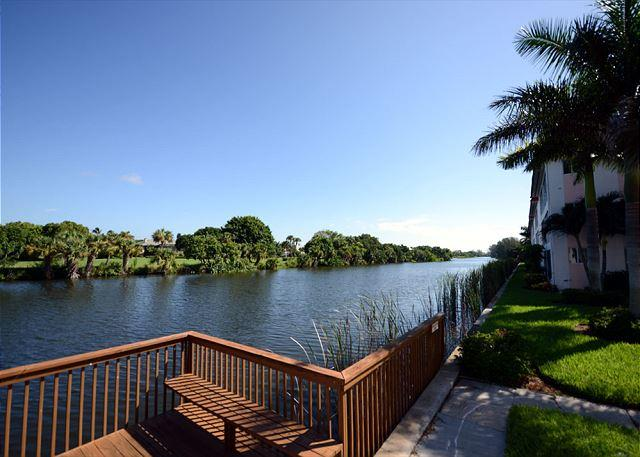 Canal view nearby - Second floor condo at Spanish Cay - Sanibel Island - rentals