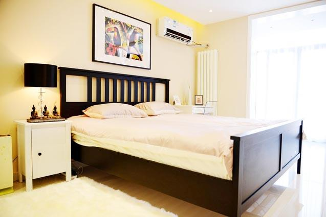 Bedroom #1 - city center,near subway,morden 2bdr apt,up 4guests - Beijing - rentals