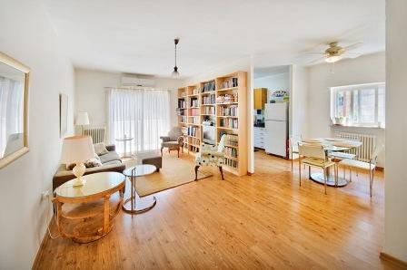 Serene and Spacious 2 bedroom Apt Emek Refaiim - Image 1 - Jerusalem - rentals