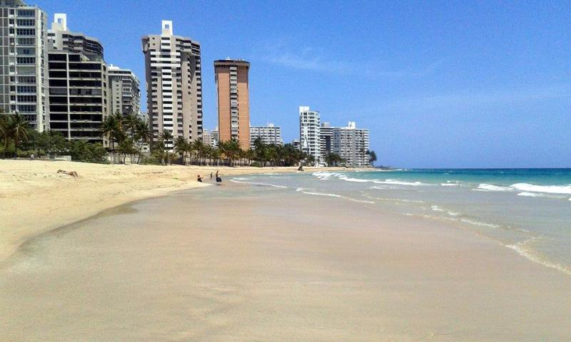 Our backyard... La Playa - Caribbean Vacation Paradise- Right on the Beach - San Juan - rentals