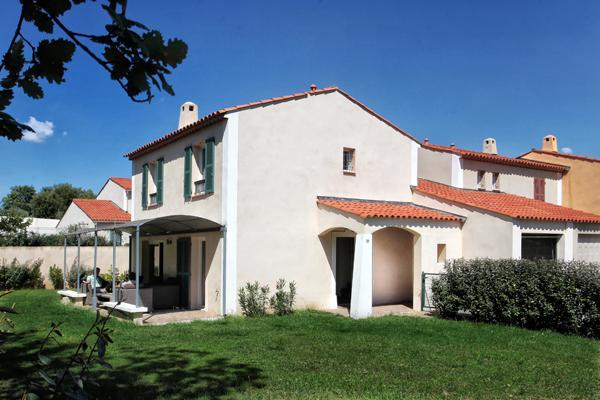 Maison Beaulieu view from the garden - Maison Beaulieu in Roquebrune/Provence-fabulous holiday home for golfers - Roquebrune-sur-Argens - rentals
