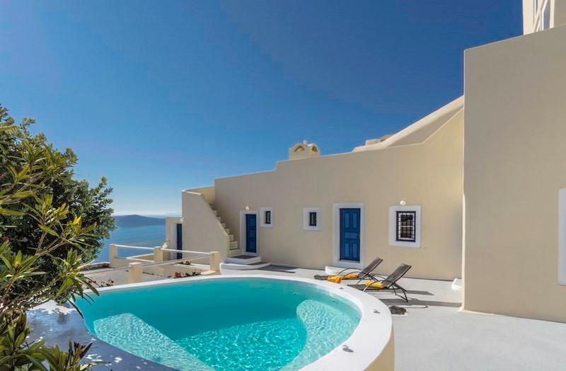 Astraea House - Centrally located villa in Fira - Image 1 - Firostefani - rentals