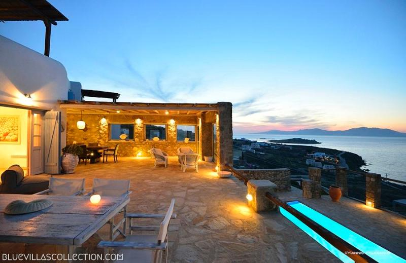 Aegean Pearl - Villa ovelooking Mykonos town - Image 1 - Mykonos Town - rentals