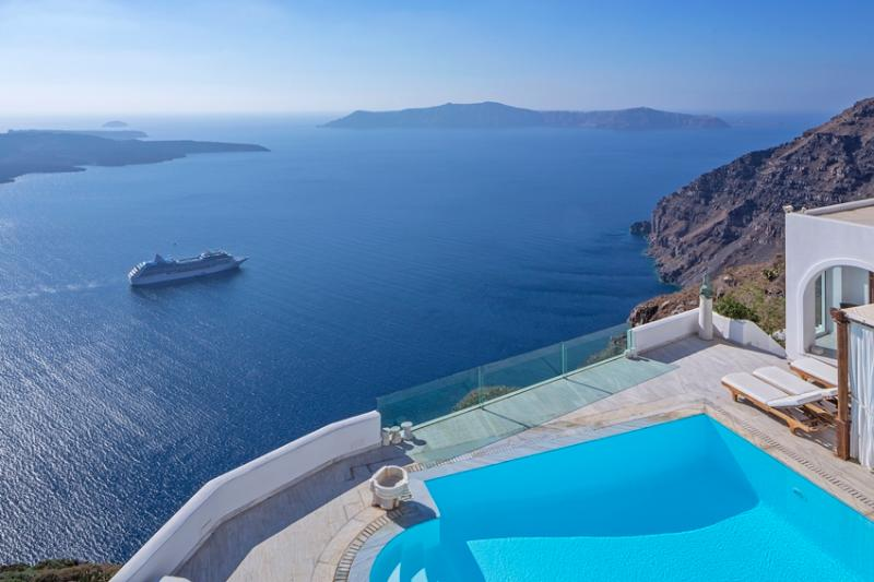 The TC Villa-high end luxury villa in Firostefani - Image 1 - Firostefani - rentals