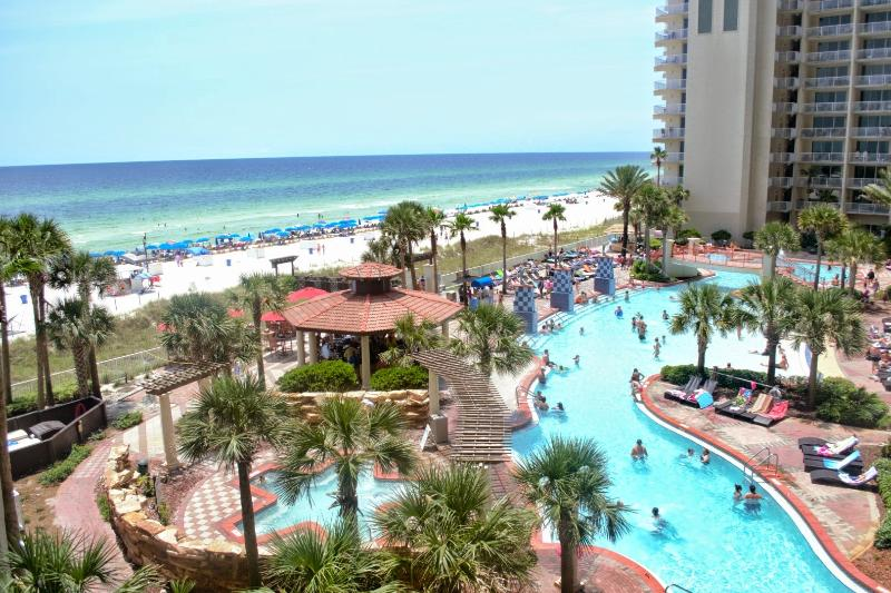 Amazing views from the balcony - BEAUTIFUL CONDO 427 1BR/Bunks 2 Bath Sleeps 6 - Panama City Beach - rentals