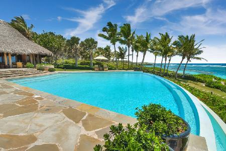 Beachfront Villa Corales in gated community with infinity pool, butler, driver & chef - Image 1 - Punta Cana - rentals