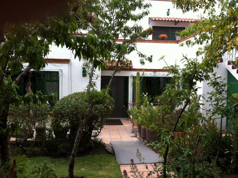 Garden - Los Frailes Winter Rental -  Quite & Lush Gardens - San Miguel de Allende - rentals