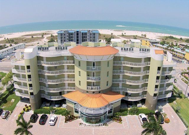 Aerial View - Crystal Palms exterior - Crystal Palms #508 - Treasure Island - rentals