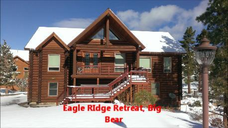 Luxury Log Cabin BIg Bear - Luxury Authentic Log Cabin, in beautiful Castle Glen Big Bear - Big Bear City - rentals
