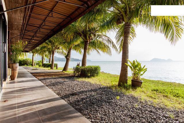 Terrace - * Modern beachfront villa - sunset view * - Koh Phangan - rentals