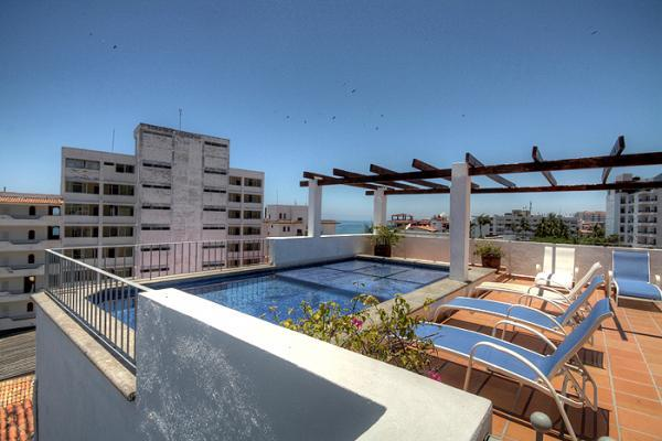Rooftop pool - 2 br condo steps from the beach in Old Town - Puerto Vallarta - rentals